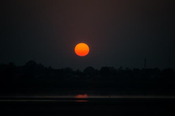 Sunset moment -Nikon 5100